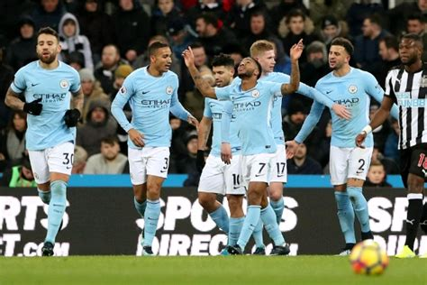 Epl Winning Streak Record | sterling scores as man city continue record breaking epl