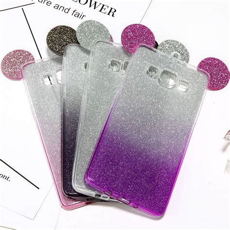 Casing Samsung A3 2017 Mickey And Minnie Mouse Custom 3d mickey minnie mouse ears phone cases for samsung galaxy s7 s6 edge s5 a5 j5 c ebay