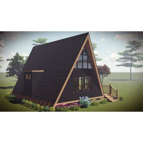 a frame kit home prefab home kit a frame home 2br 1ba 600sf 150sf loft the