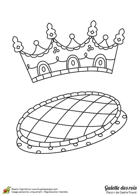 Decorer Galette Des Rois by Dessin 224 Colorier D Une Galette Des Rois Avec Sa Couronne