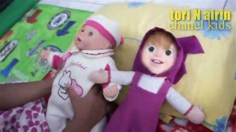 Boneka Beruang Boneka Doll Mainan Anak Kid S giggles coos baby dolls children mainan anak