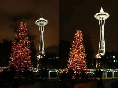 christmas tree lighting seattle seattle lights are go deano in america