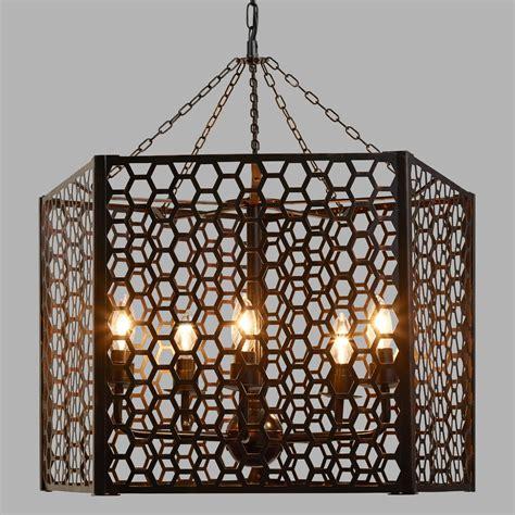 world chandelier honeycomb chandelier world market