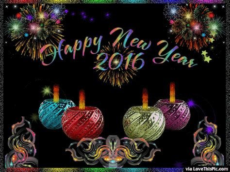 happy new year gif 2016 happy new year 2016 colorful gif pictures photos and