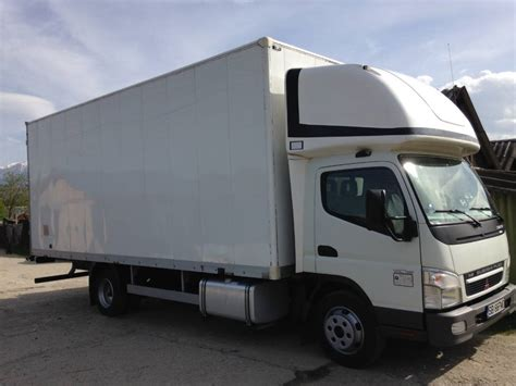 mitsubishi fuso truck used mitsubishi canter box trucks year 2008 price