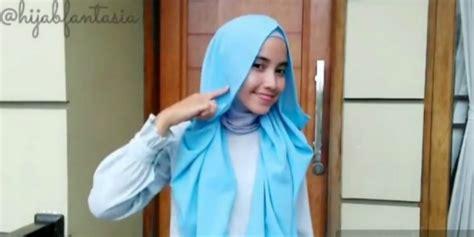 video tutorial hijab kondangan cuma 10 detik tutorial hijab cantik untuk kondangan