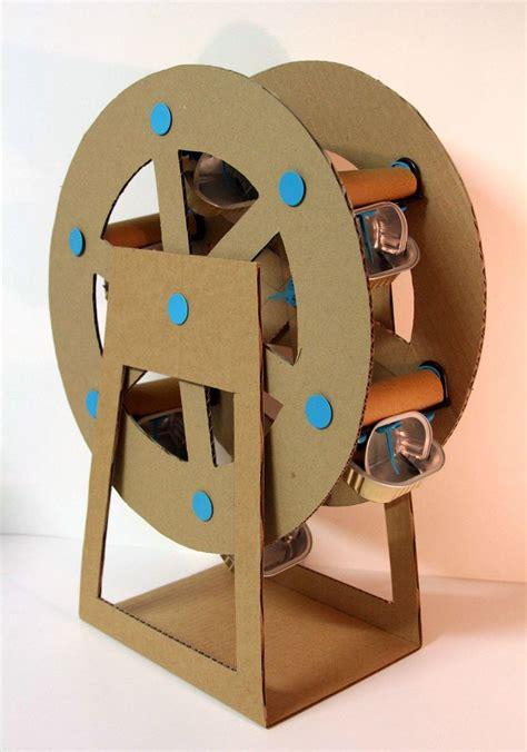 Cardboard Papercraft - cardboard ferris wheel vbs