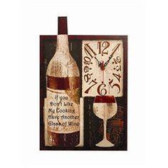 kitchen clocks wine theme 1000 images about wine theme kitchen on wine
