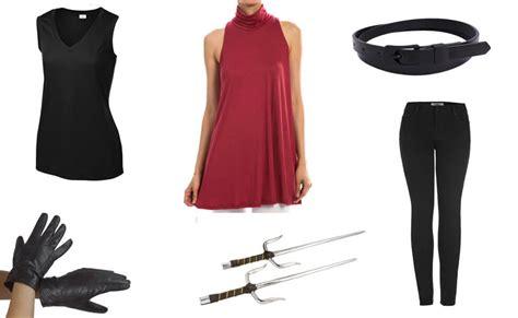 Elektra Black Costume   DIY Guides for Cosplay & Halloween