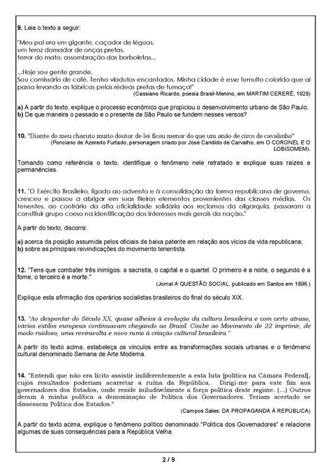 ATIVIDADES HISTÓRIA 9° ANO EXERCÍCIOS PROVAS AVALIAÇÕES