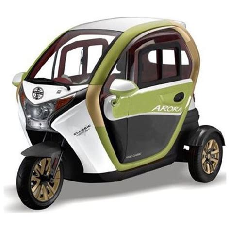 arora uec tekerlekli kapali elektrikli moped  fiyati