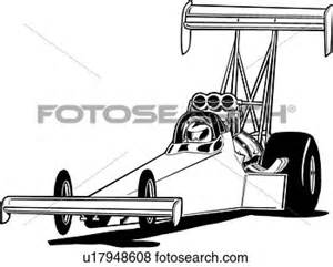 Top Fuel Dragster Coloring Pages Sketch Page sketch template