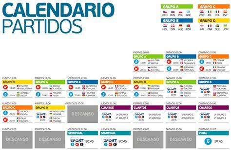 Calendario Partidos Mediaset Sport Ofrecer 225 Todos Los Partidos De La Eurocopa