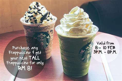 Coffee Starbuck Malaysia starbucks malaysia promotion february 2017 couponmalaysia