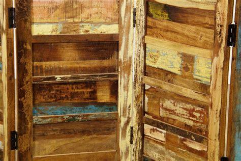 rustic room dividers rustic room divider distressed rustic beige mango wood
