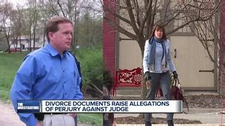 Livingston County Divorce Records Michigan Judge And Ex Lover A Policeman Accused Of Perjury By Murderer Wxyz