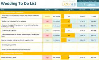wedding list of things to do template list templates dotxes