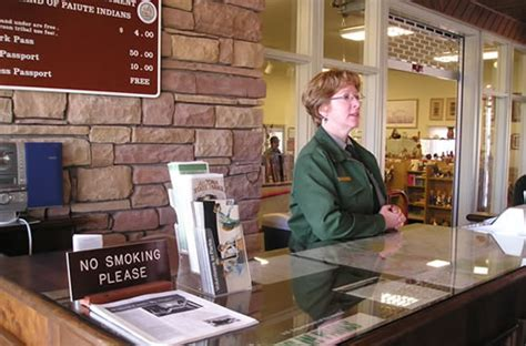 National Help Desk by Visitor Center Pipe National Monument U S