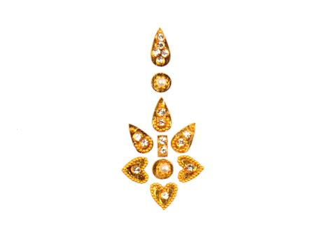 designer single bindi golden bindi bollywood bindis