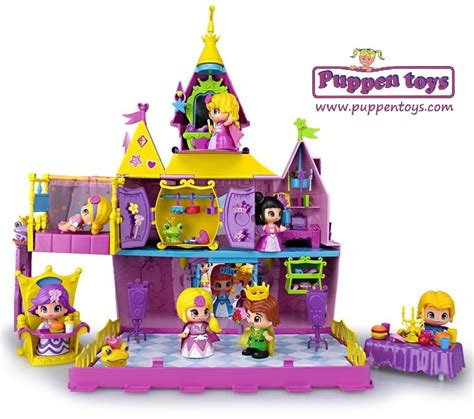 Baby Room Games - pinypon palace with 2 figures pet famosa juguetes puppen toys