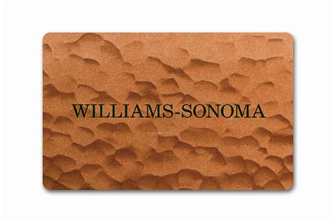 Williams Sonoma Gift Card Discount - gift cards china wholesale gift cards page 80