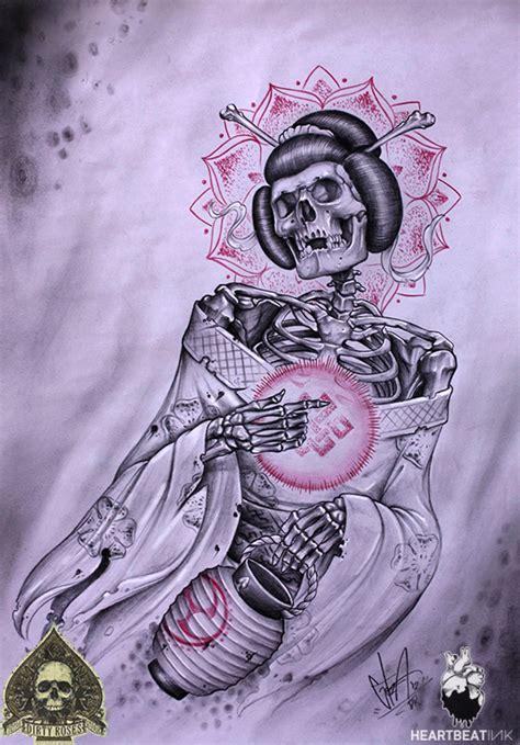 geisha tattoo magazine alex gotza heartbeatink tattoo magazine