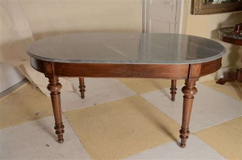 continental grey marble top centre or dining table at 1stdibs
