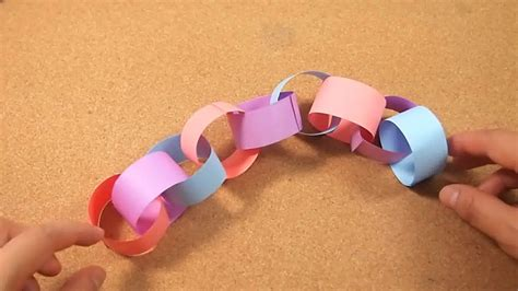 How To Make Paper Chains - how to make a paper chain 5 steps with pictures wikihow