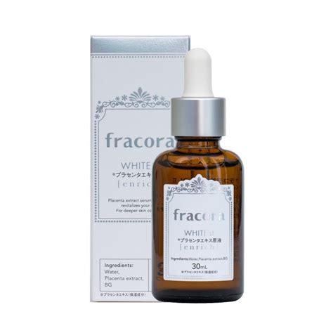 Fracora Placenta Extract 30ml fracora japan concentrated placenta extract 100 white st