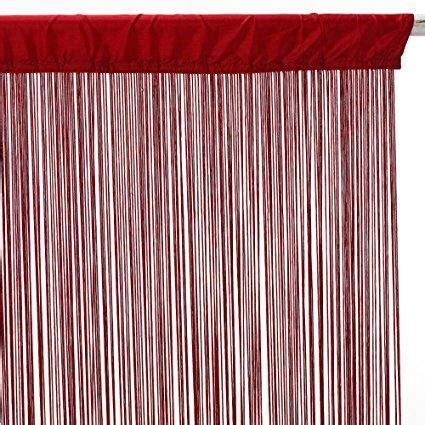 tenda rossa tenda rossa a fili di cotone h 270 x 90 san michele di