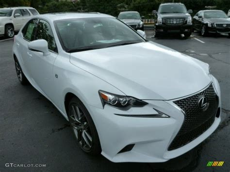 white lexus is 250 2014 2014 ultra white lexus is 250 f sport awd 84766843 photo