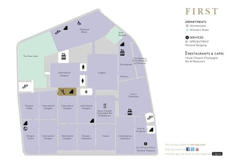 Wedding Floor Plan App by Harrods The Store Guide