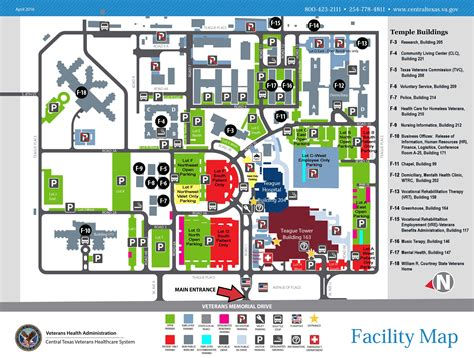 va national help desk facility maps central texas veterans health care system