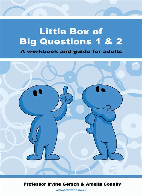 libro big questions from little little box of big questions workbook
