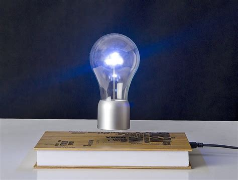spaceb levitating light bulb l 187 gadget flow