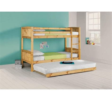 buy home detachable bunk bed with trundle