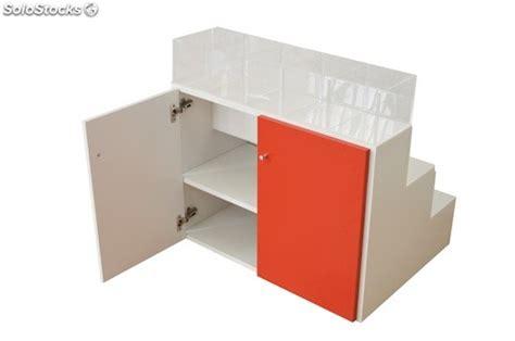muebles expositores mueble expositor en escalera cubos de metacrilato para