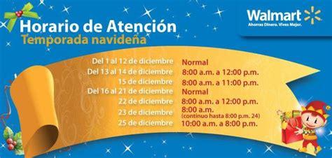 horario atencion navideña WALMART el salvador - Ofertas Ahora Horario Walmart