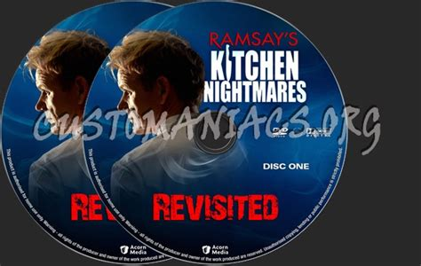 Kitchen Nightmares Revisited by Ramsay S Kitchen Nightmares Revisited Dvd Label Dvd