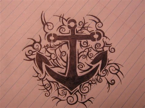 crazy tribal tattoos 16 tribal anchor tattoos collection