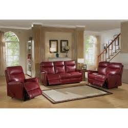 Leather Reclining Living Room Sets Amax Napa 3 Leather Lay Flat Reclining Living Room Set Wayfair