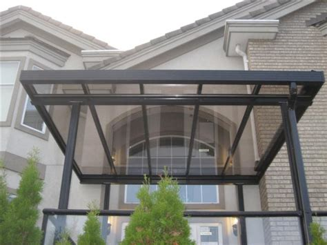 glass patio awning patio covers awnings aluminum and glass