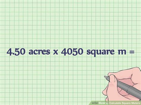 10 square meters 3 simple ways to calculate square meters wikihow