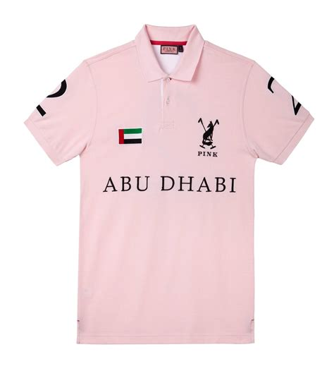 Hoodie Exclusive Abu Z4yt pink to launch exclusive polo shirt for the uae haute living