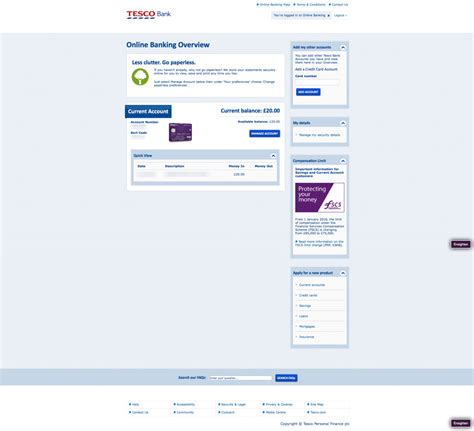 tesco bank logon tesco bank uk account application digital banking