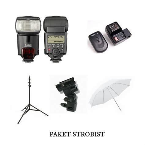 Paket Strobist Flash D filerentalkamera menyewakan kamera dslr lensa peralatan strobist dan studio di bandung