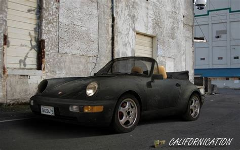 porsche californication californication how hank lost his porsche s headlight