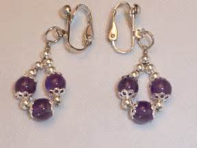 handmade amethyst clip on earrings earrings photo 17152041 fanpop