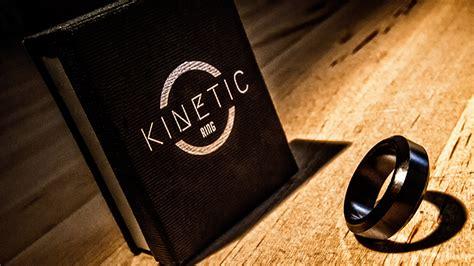 Alat Sulap Pk Ring Black kinetic pk ring black beveled size 10 by jim trainer trick murphy s magic supplies inc