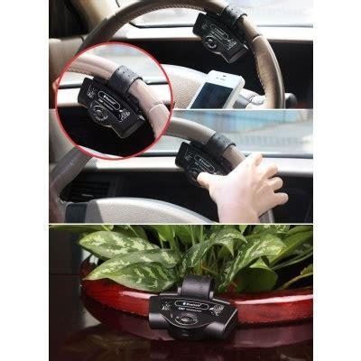 Portable Steering Wheel Bluetooth Phone Car Kit Hitam 1 jual bluetooth phone car kit bt8109 portable steering wheel groceryz
